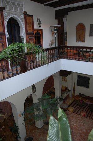 Ryad Bahia: Riad interior