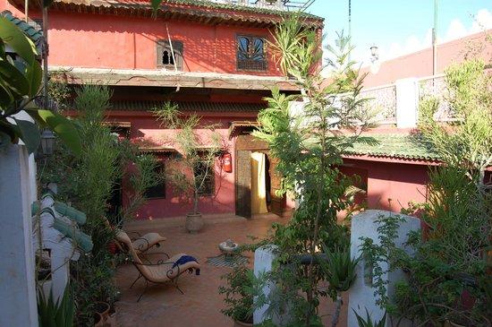 Ryad Bahia : Roof terrace