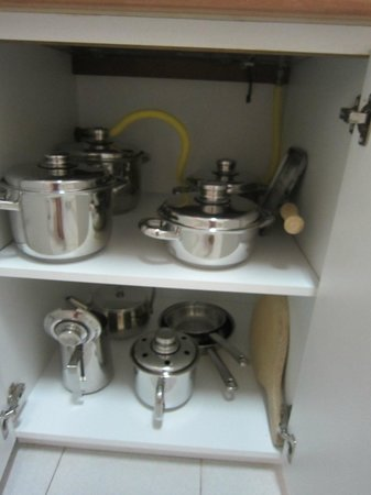 Pinhal da Marina: the new pots and pans