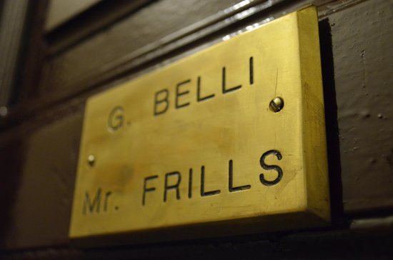 Mr Frills B&B: Front Door
