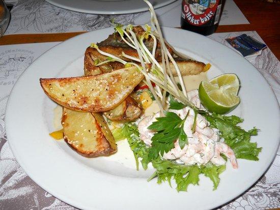 Spiseloppen Christiania : mullet fish