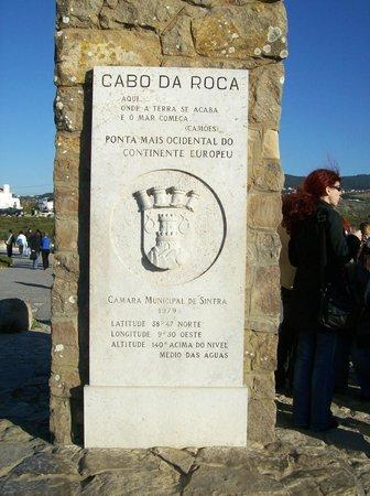 Cabo da Roca: obelisco punto + occidentale d'europa