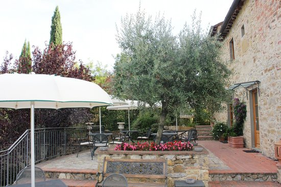 Il Casello Country House B&B : We enjoyed the terrace.