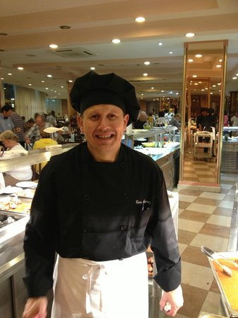 Best Cambrils : Chef, i forget his name, but enjoys a laugh