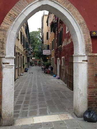 Alley of Hotel Guerrini