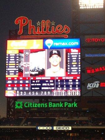 Citizens Bank Park: baseball