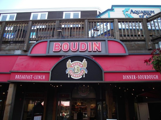 Entrance to Boudin at the Wharf