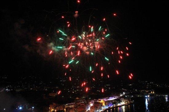 Albergo Il Monastero : Fireworks at midnight!