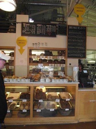 The Model Bakery: Baked goods