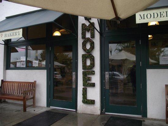 The Model Bakery: Entrance to Model