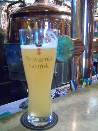 Brovarnia Gdansk: One of several wheat beers I enjoyed...