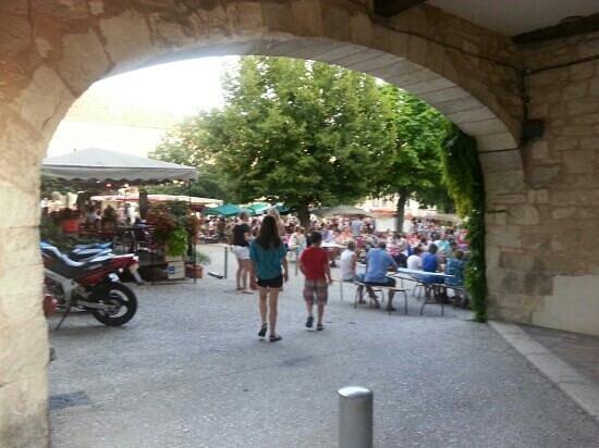 Lot-et-Garonne, Frankrig: marché producteurs de pays à Monflanquin