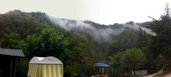 Camping Le Sorgenti : Panorama