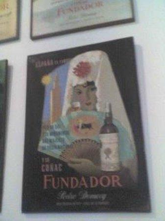 Bodegas Fundador: Publicidad antigua
