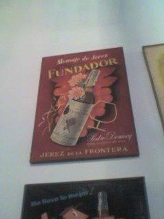 Bodegas Fundador: Publicidad, detalle.