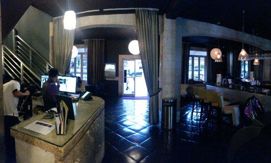 Hotel Shelley: Hall