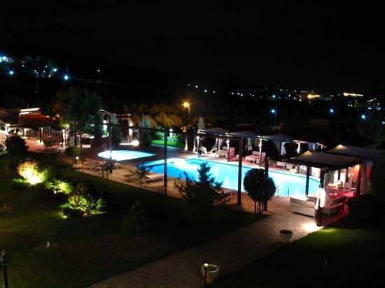 Agnantio Hotel and Spa: pool area
