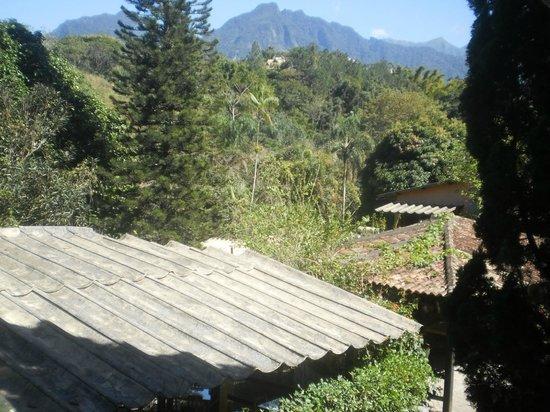 Hotel da Cachoeira : vista da varanda do restaurante