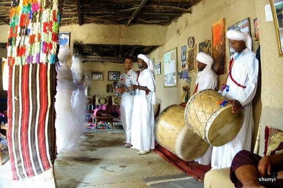 Best Of Merzouga - Day Tour: Hassan joined in the singing and dancing of the Gnawa people at the Khamlia village