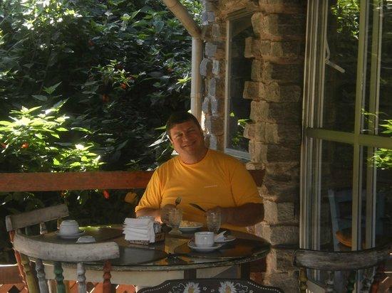 Hotel da Cachoeira : café da manha