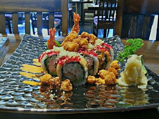 Sushi Wara : popcorn roll