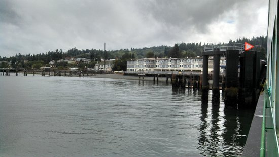 Silver Cloud Inn Mukilteo – Waterfront : View from Whidbey Island Ferry
