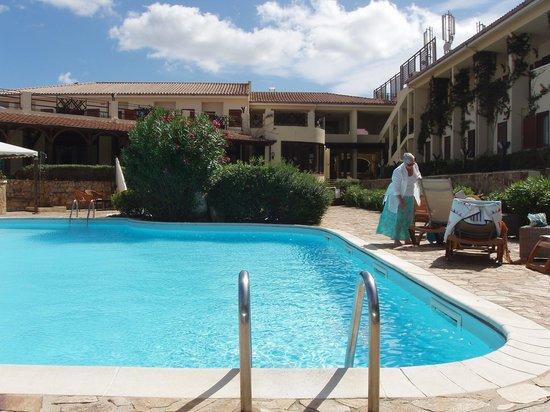 Hotel Palau: piscina