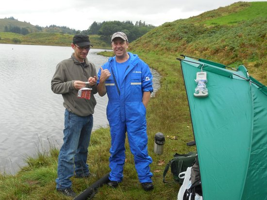 Torran Bay Hostel : fishing