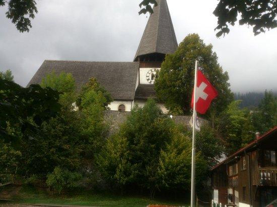 Saanen - church