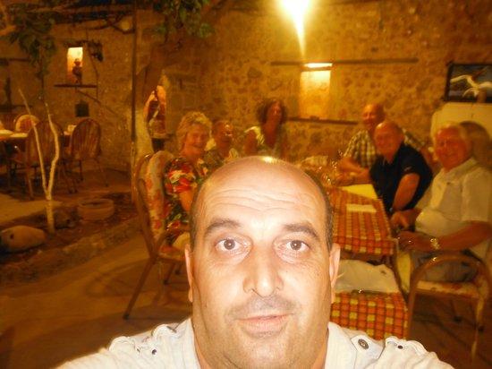 Sirri: cheeky restaurant owner