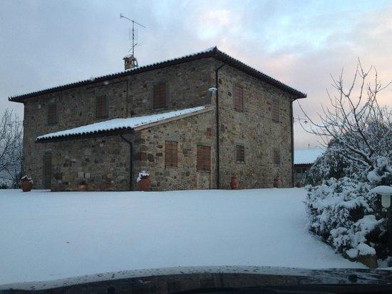 Quadro, Italien: neve