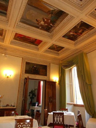 Hotel dei Macchiaioli : The Lovely Breakfast Room