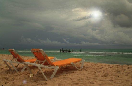 IBEROSTAR Paraiso Del Mar: Before the storm