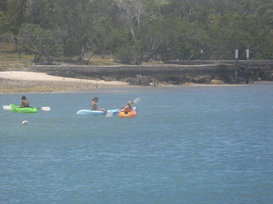 Abaco Inn: Kayaking
