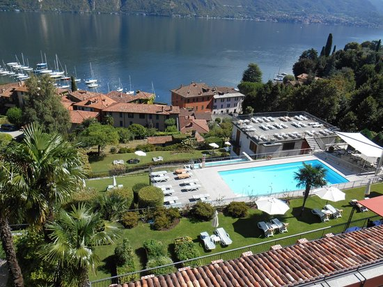 Hotel Belvedere Bellagio: View of Pool from Room 310 Balcony