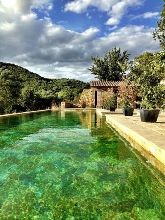 Casale Monticchio : The beautiful pool area.