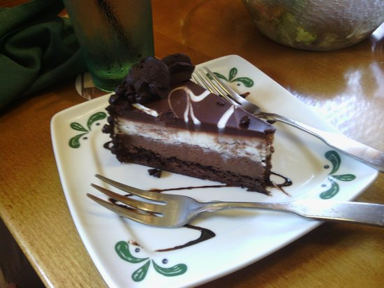 Chocolate Mousse Cake A Waste Of 5 Picture Of Olive Garden Greenville Tripadvisor