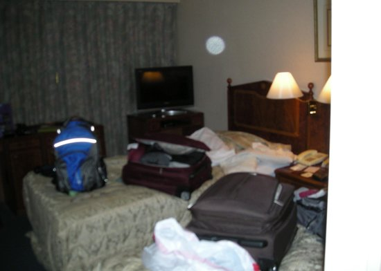 Dukes Hotel Hakata : only room view I took