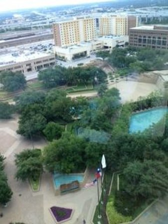 Omni Fort Worth Hotel: View from room