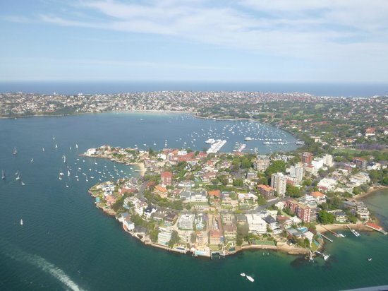 Sydney Seaplanes: breathtaking views from the plane