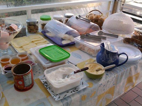 Guaruja Hostel: café da manhã