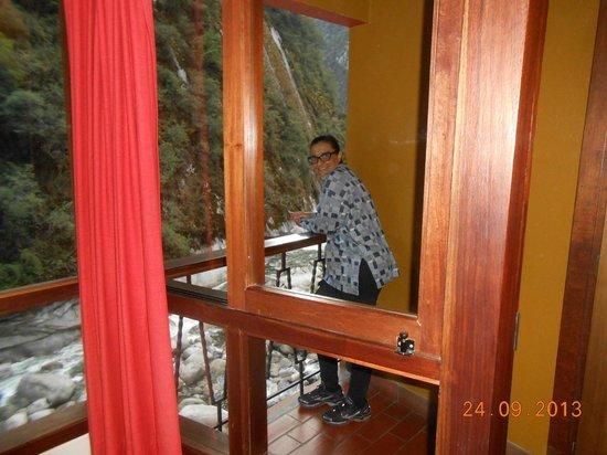 Andina Luxury: Vista da varanda para o rio