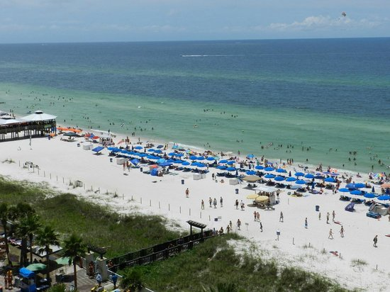 Beach at Panama City : Beach from Above