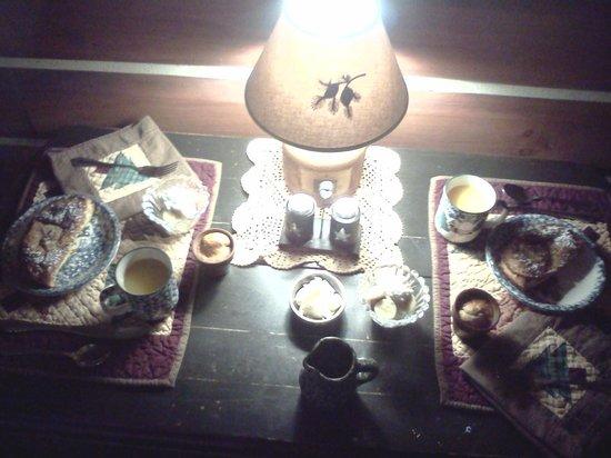 The Inn at Narrows Creek : Breakfast