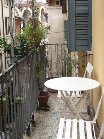 La Finestra sull'Arena: View from bedroom balcony.