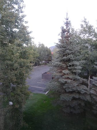 Hampton Inn Jackson Hole : View from hotel room