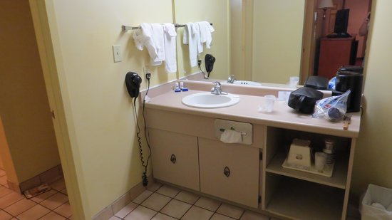 Best Western Toni Inn: bathroom