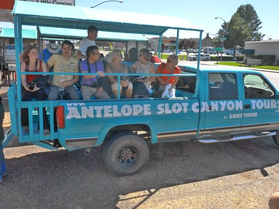Antelope Canyon: Chief Tsosie's Transportation to the Canyon
