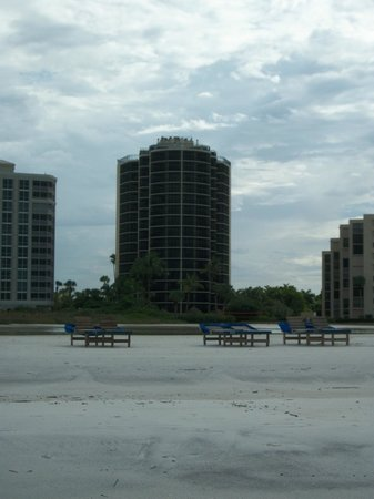 Pointe Estero Beach Resort: Resort /View from Beach