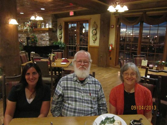 The Keeter Center   Dining: I Along With My Wife And Student Catherine Davis